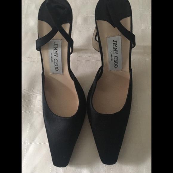 Jimmy Choo Woman Maya Two-tone Woven Leather Sandals Black Size 39.5 Jimmy Choo London ftSvDhYfQ